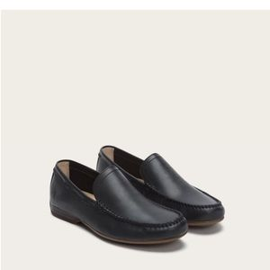 NEW • Frye • Lewis Venetian Loafers Navy Blue